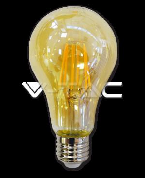 LED ŽARULJA E27 8W filament AMBER