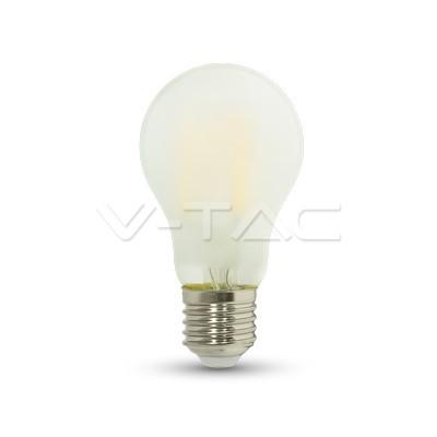 7W E27 LED žarulja filament frost cover A++ V-TAC