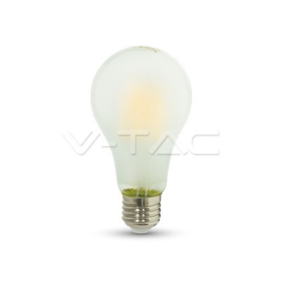 9W E27 LED žarulja filament frost cover A++ V-TAC