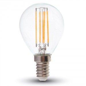 LED žarulja P45 E14 4W filament