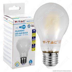 6W E27 LED žarulja filament frost cover V-TAC