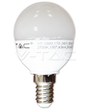 6W E14 LED žarulja P45 V-TAC