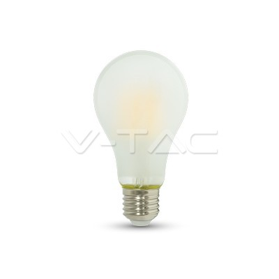 V-TAC LED žarulja E27 8W filament frost cover